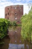 Руины бывшего голландского замка Teylingen Стоковая Фотография