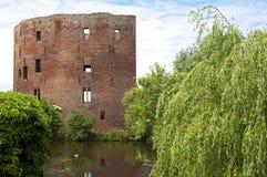Руины бывшего голландского замка Teylingen Стоковое фото RF
