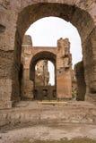 Руины ванн Caracalla - Terme di Caracalla Стоковое Изображение