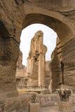Руины ванн Caracalla - Terme di Caracalla Стоковые Фотографии RF