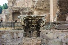 Руины ванн Caracalla - Terme di Caracalla Стоковые Фото