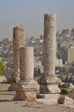 Руины виска, Амман Стоковые Фотографии RF