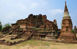 Руины виска, Ayutthaya Стоковые Фото