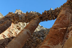 Руины виска стоковые изображения rf