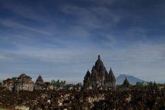 Руины виска Sewu стоковое фото