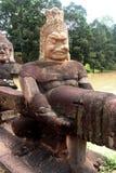 Руины виска wat Angkor Стоковое Изображение RF