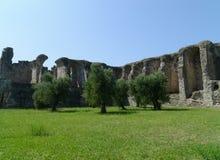 Руины виллы catullus Стоковая Фотография RF