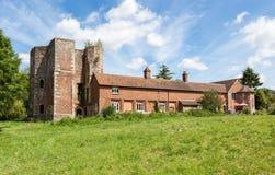 Руины дворца Otford, Кента, Англии, Великобритании Стоковое Изображение