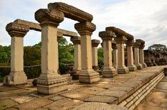 Руины в виске Bapuan Стоковое Изображение