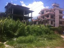 Руины в Катманду Стоковые Фотографии RF