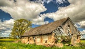 Руины в Латвии Стоковые Изображения