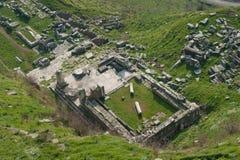 Руины в Пергаме Стоковое Изображение