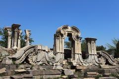 Руины в старом дворце лета Стоковое Изображение RF