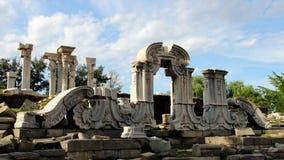 Руины в старом дворце лета Стоковая Фотография