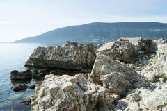 Руины в Herceg Novi Стоковые Изображения RF