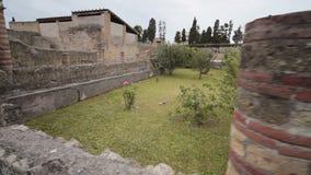 Руины Геркуланума, Италии акции видеоматериалы