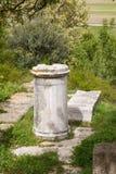 Руины города древнегреческия Троя Стоковые Изображения RF