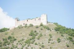 Руины готического  ky viÄ› дома DÄ башни, чехии Стоковые Фотографии RF