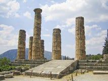 руины грека Стоковые Фото