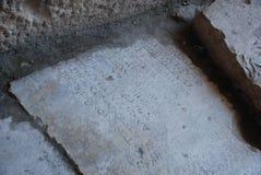 Руины древнего города в Турции около Антальи стоковые изображения