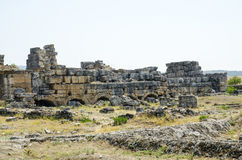 Руины древнего города Стоковое Изображение