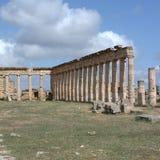 Руины древних народов в Cirene Стоковые Изображения