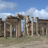 Руины древних народов в Cirene Стоковое Изображение RF