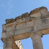 Руины древних народов в Cirene Стоковое Фото