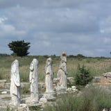 Руины древних народов в Cirene Стоковые Изображения RF