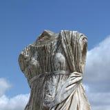 Руины древних народов в Cirene Стоковая Фотография RF