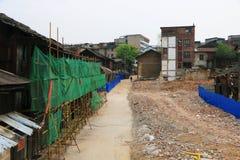 Руины ждать быть отстраиванным заново стоковое изображение