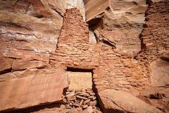 Руины жилища скалы в Аризоне Стоковое Изображение RF