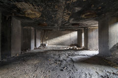 Руины завода Стоковые Изображения RF