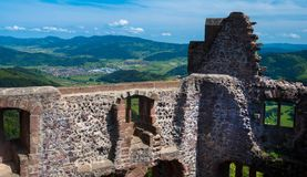 Руины замка в Германии Стоковое фото RF