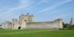 Руины замка отделки Стоковая Фотография RF