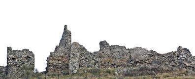 Руины замка Романо Trevignano Стоковые Фото