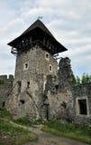 Руины замка стоковое фото rf