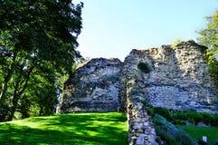 Руины замка Стоковая Фотография RF