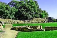 Руины замка Стоковая Фотография
