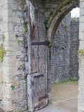 Руины замка Chepstow, Уэльса Стоковое Изображение RF