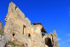 Руины замка Durnstein Стоковое Фото