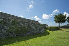 Руины замка Nakagusuku Стоковые Фото