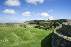 Руины замка Nakagusuku Стоковое фото RF