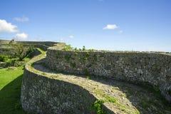 Руины замка Nakagusuku Стоковая Фотография