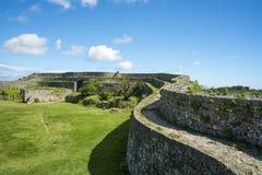Руины замка Nakagusuku Стоковое Фото