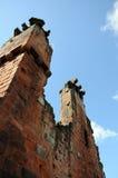 Руины замка Penrith Стоковые Изображения RF