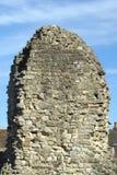 Руины замка Rochester в Англии Стоковые Изображения RF