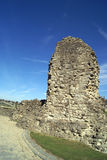 Руины замка Rochester в Англии Стоковые Изображения