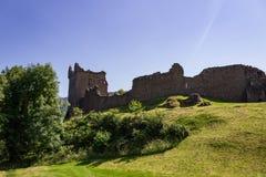 Руины замка Urquhart Стоковая Фотография RF
