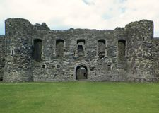 Руины замка Welsh Стоковая Фотография RF